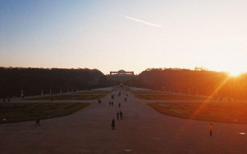 Jardim do palácio da Sisi