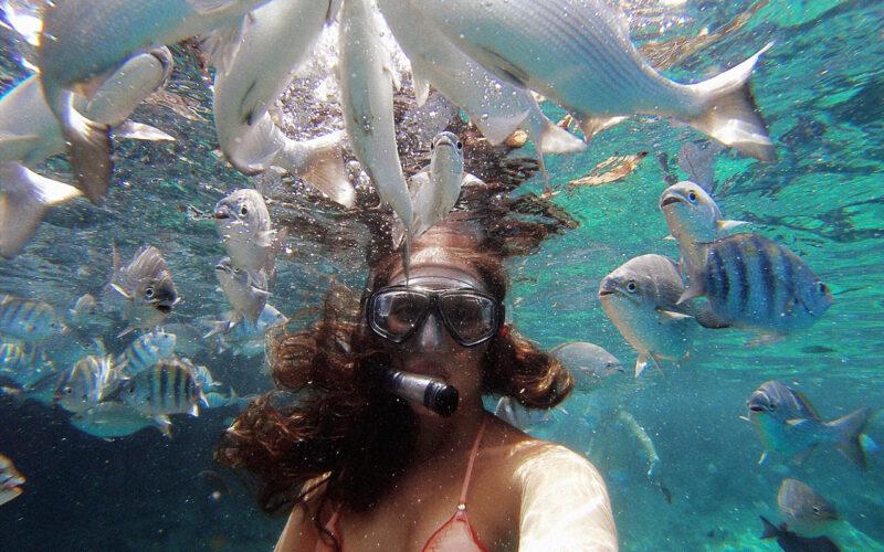 Mergulho em La Piscinita