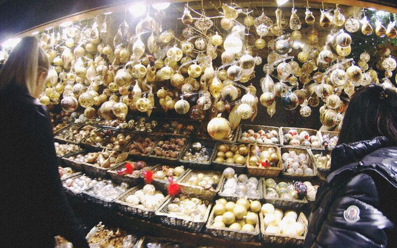 Bolinhas decorativas de natal