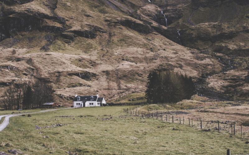 Casinha perto de Glen Coe