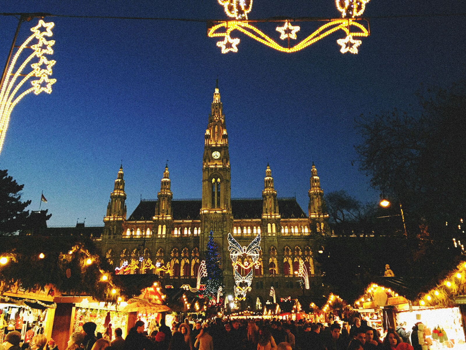 Christmas Market em Rathaus