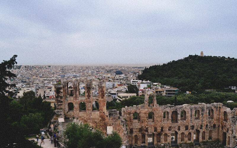 Anfiteatro – Odeão de Herodes Ático