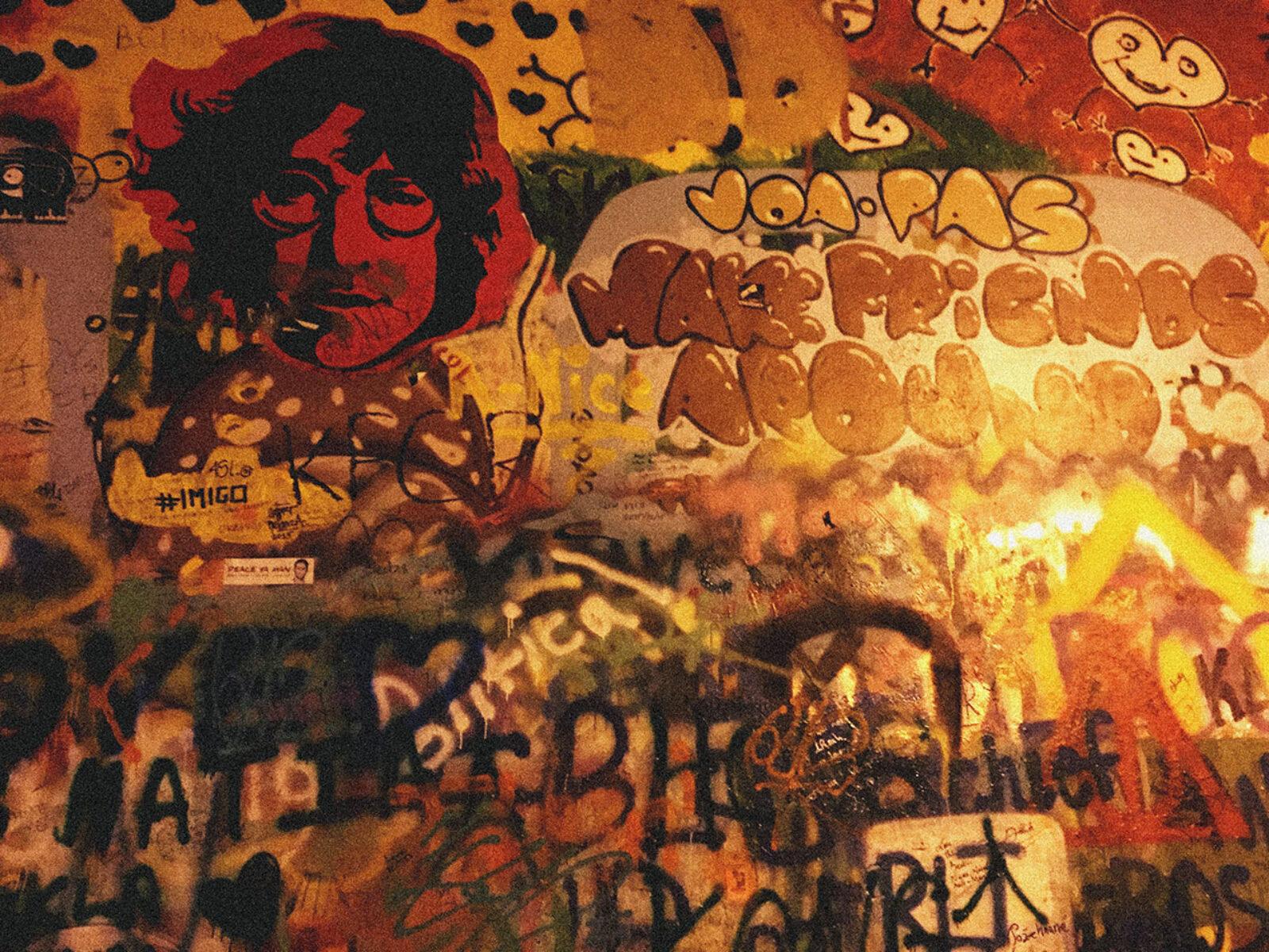 Parede de John Lennon