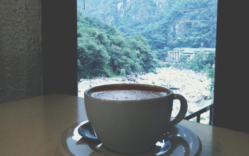 Café em Águas Calientes
