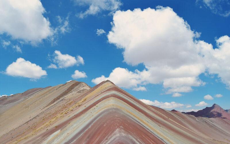A beleza da Vinicunca, a Rainbow Mountain