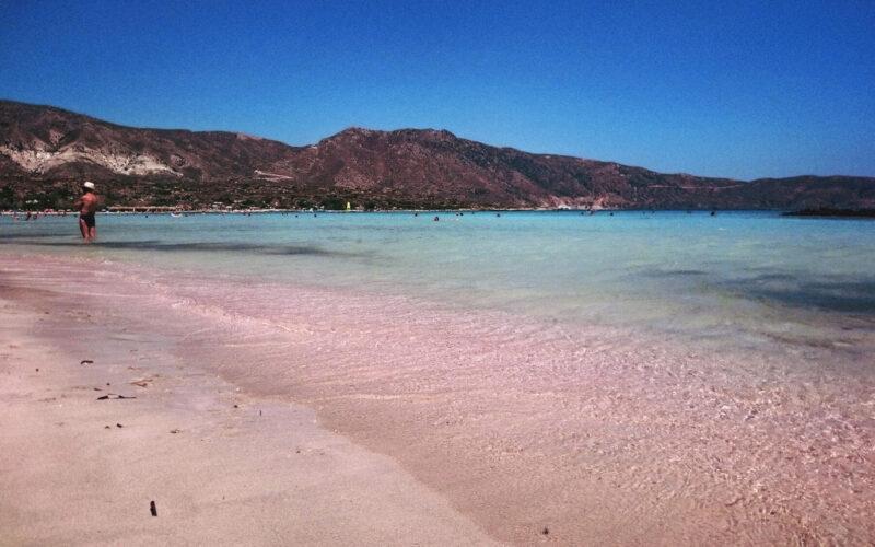 Elafonissi e sua areia rosa