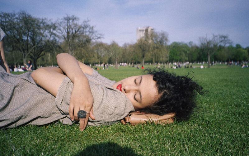 Hyde Park no verão