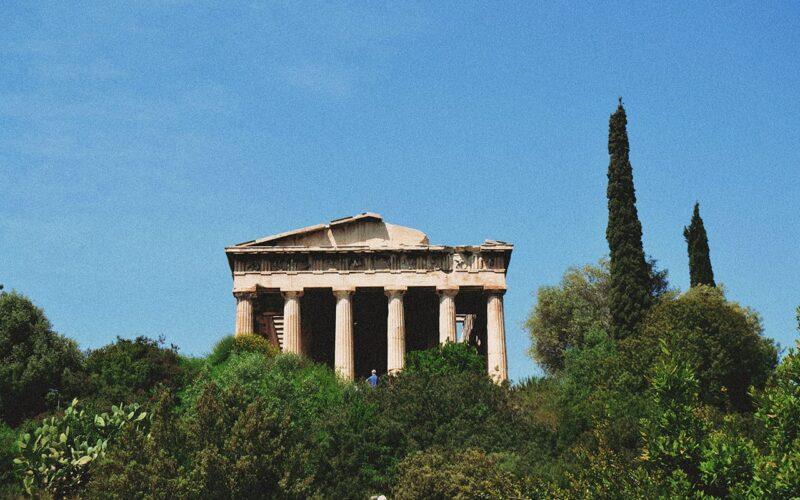 Templo de Hefesto na Agora Antiga
