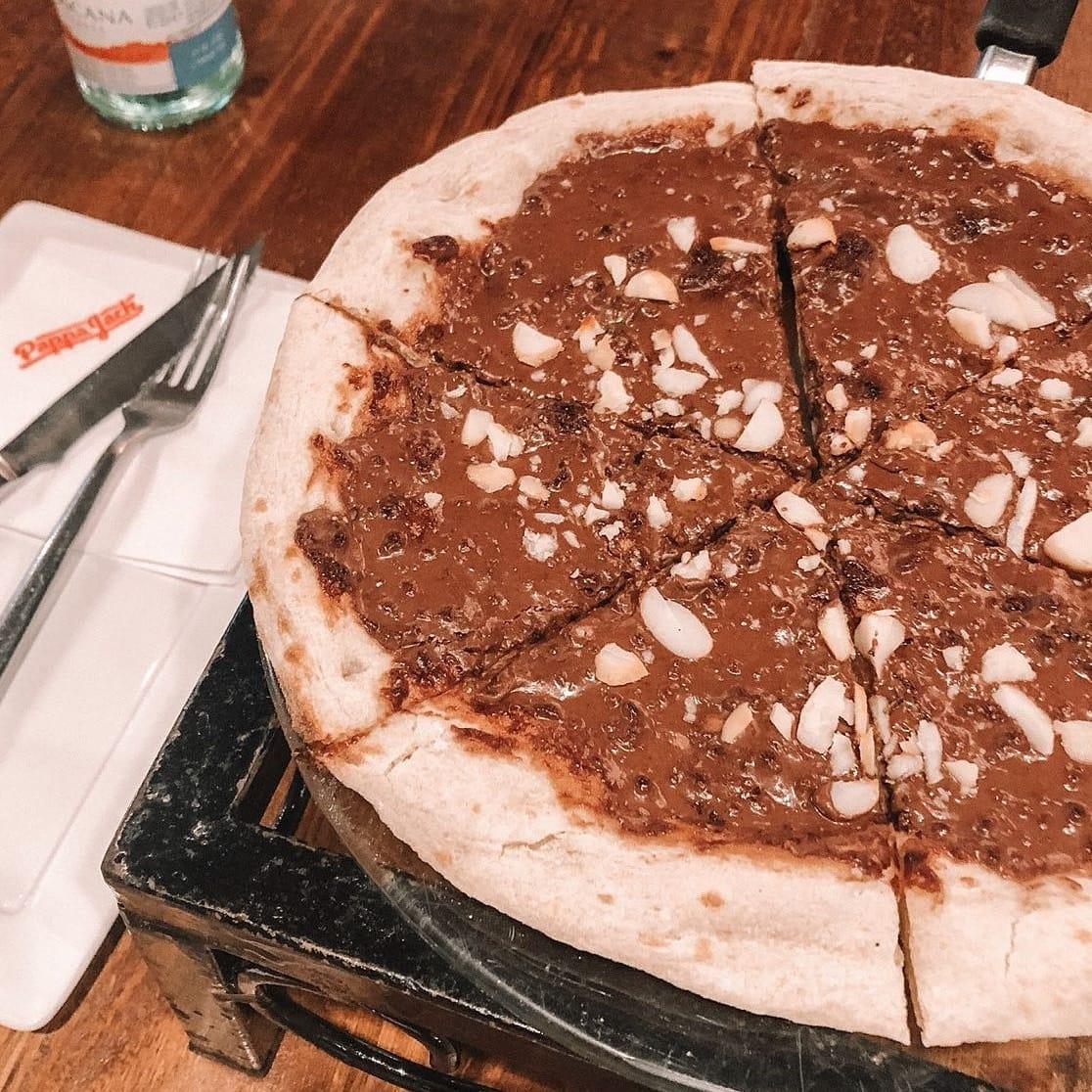 pizza de nutella Pappa Jack