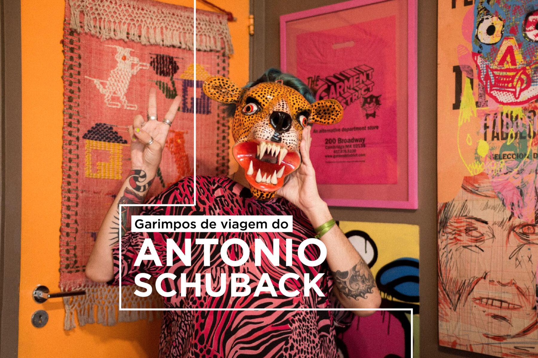 capa do video do antonio schuback sobre viagem
