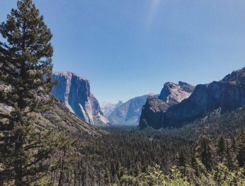 Yosemite California Tunnel View