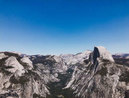 Yosemite California Glacier Point