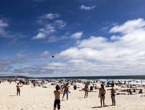 Dia de sol e verão em Pacific Beach