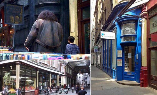 Harry Potter na Europa - Londres