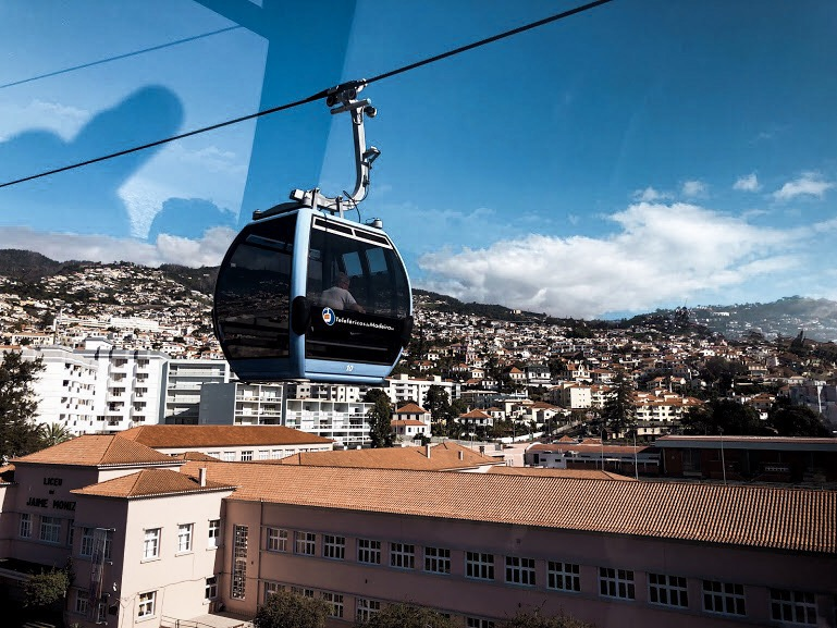 Teleférico, Funchal, Ilha da Madeira