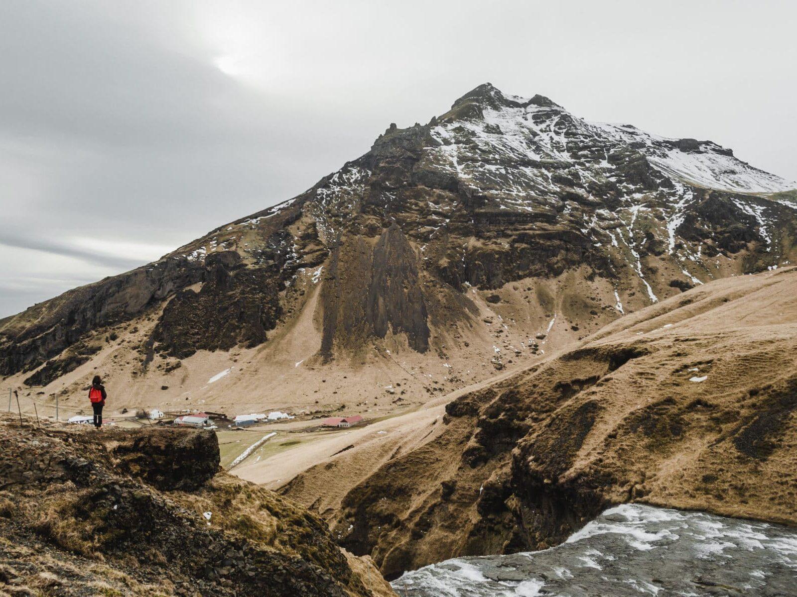 Skógafoss, Islândia