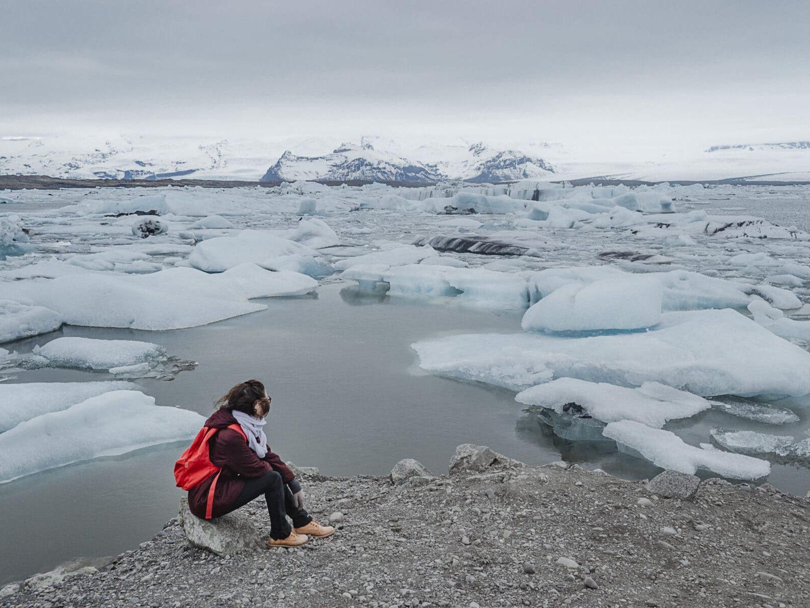 Jökulsárlón, Islândia