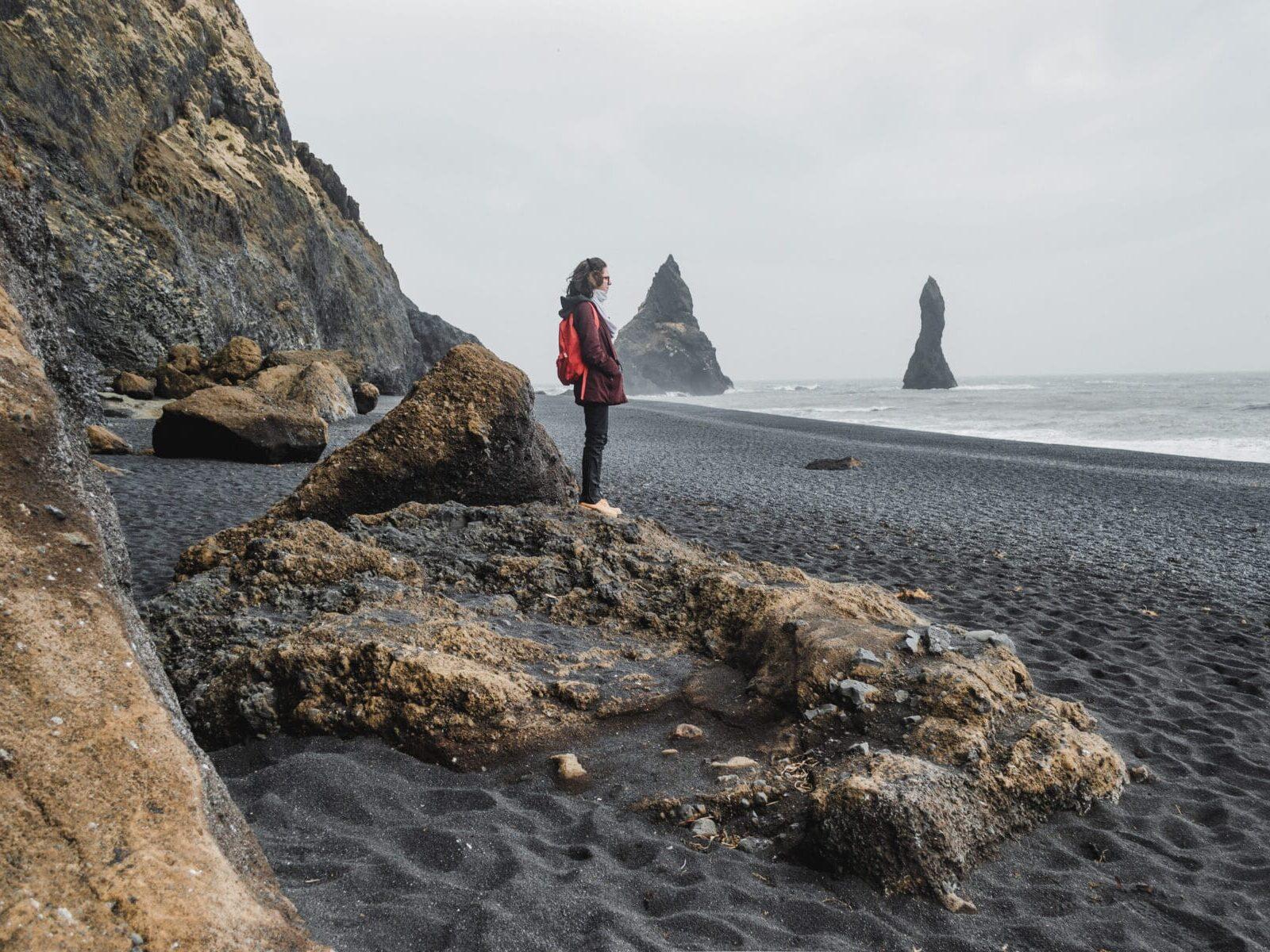 Reynisfjara, Islândia
