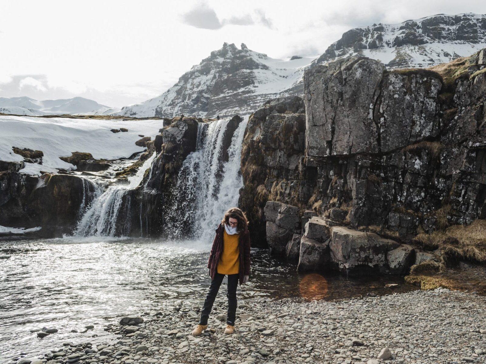 Kirkjufellsfoss, Islândia