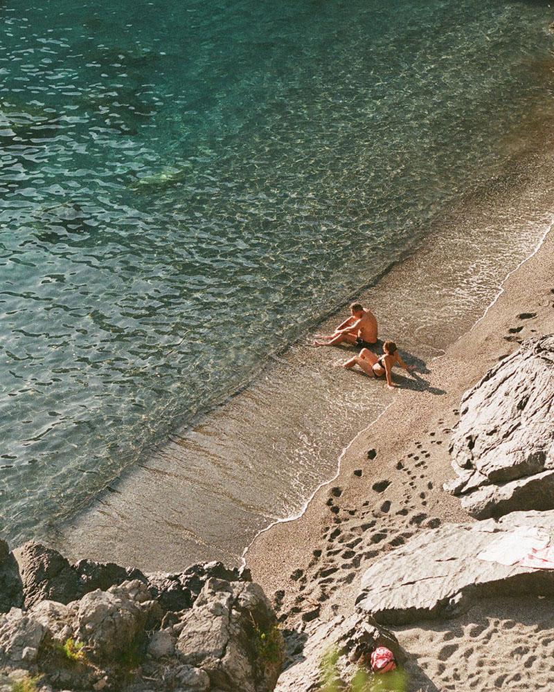 Praia ao lado do Arco Magno na Calabria italia