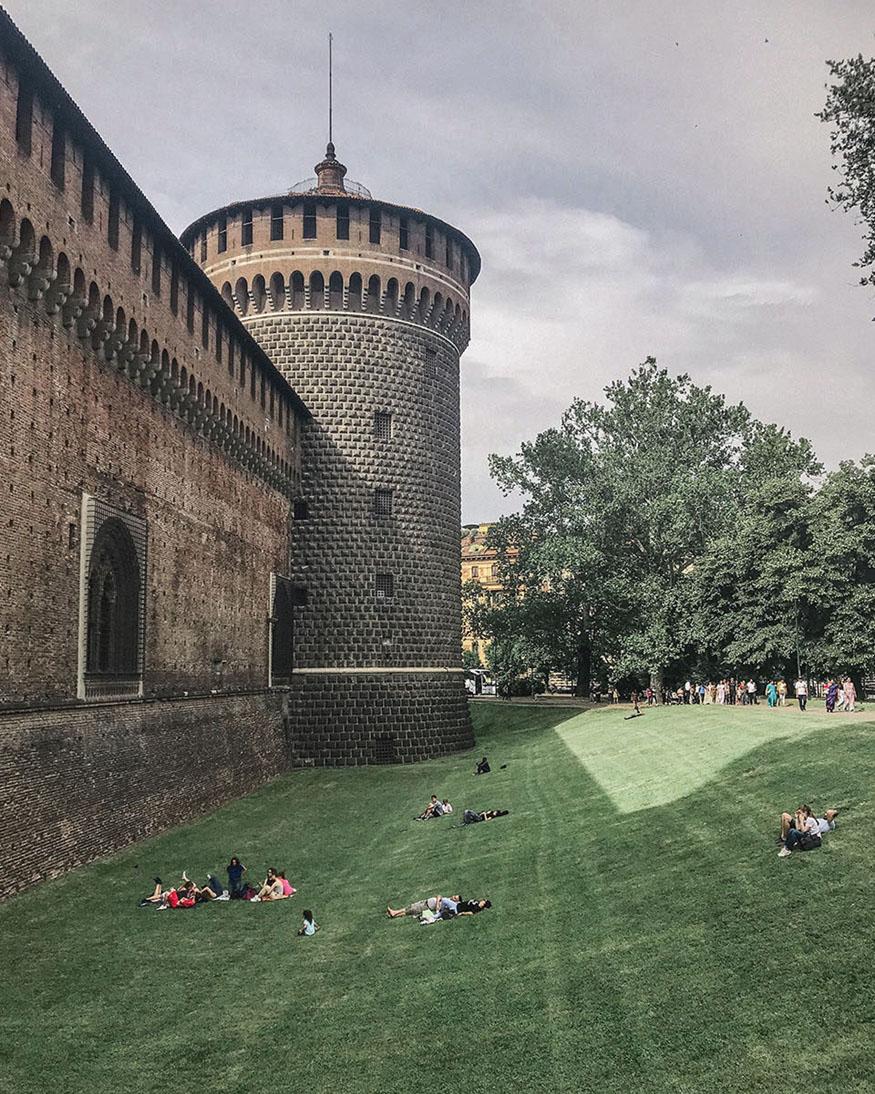castello sforzesco em milão