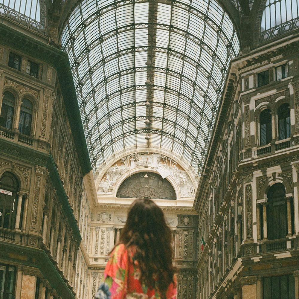 Galeria Umberto I em nápoles