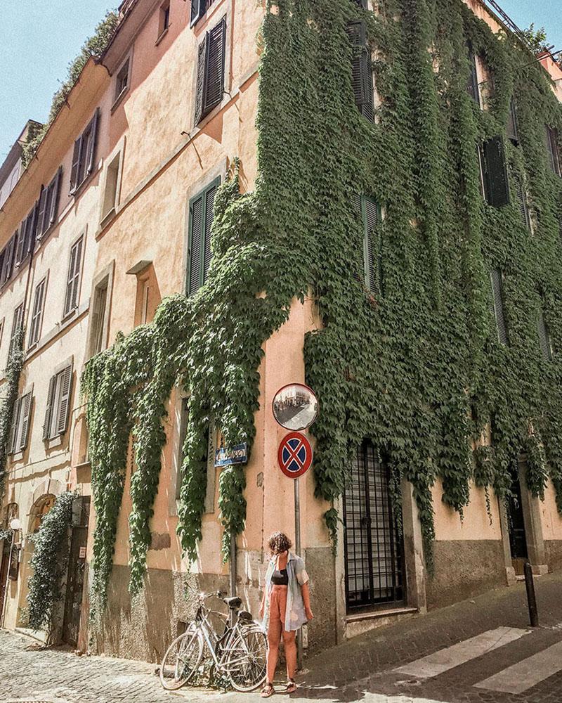 bairro de Monti em Roma