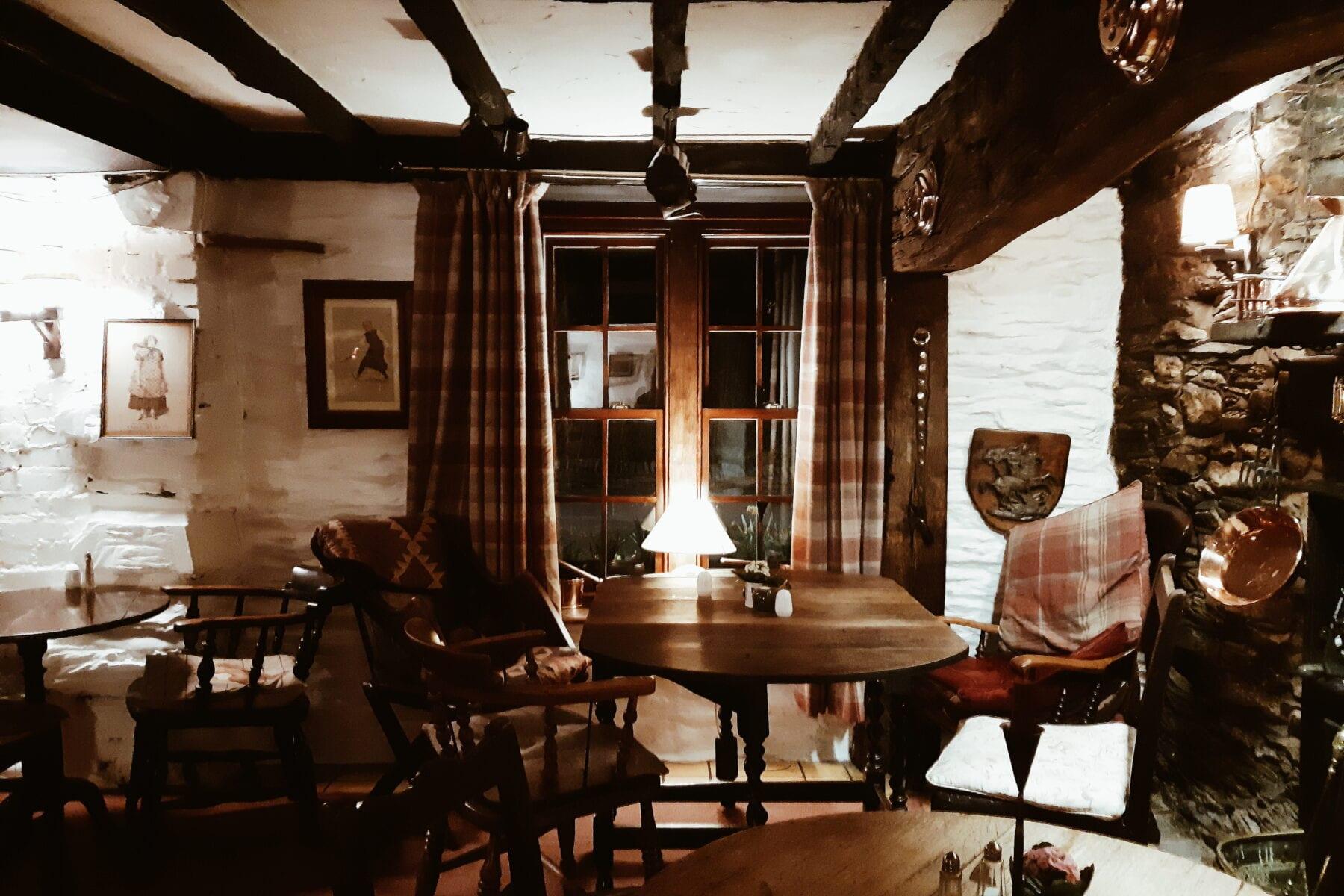 Restaurante do hotel Ty Gwyn, Betws y Coed - Snowdon, País de Gales