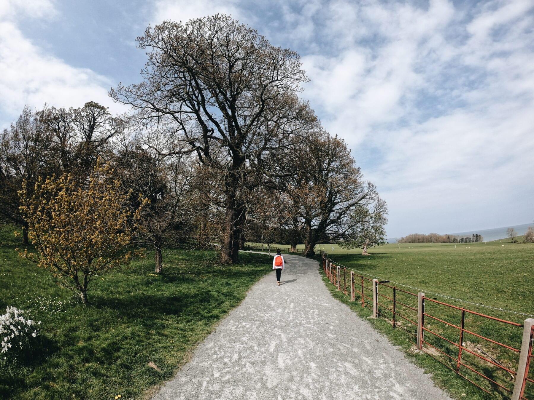 Jardim do Castelo de Penrhyn, País de Gales