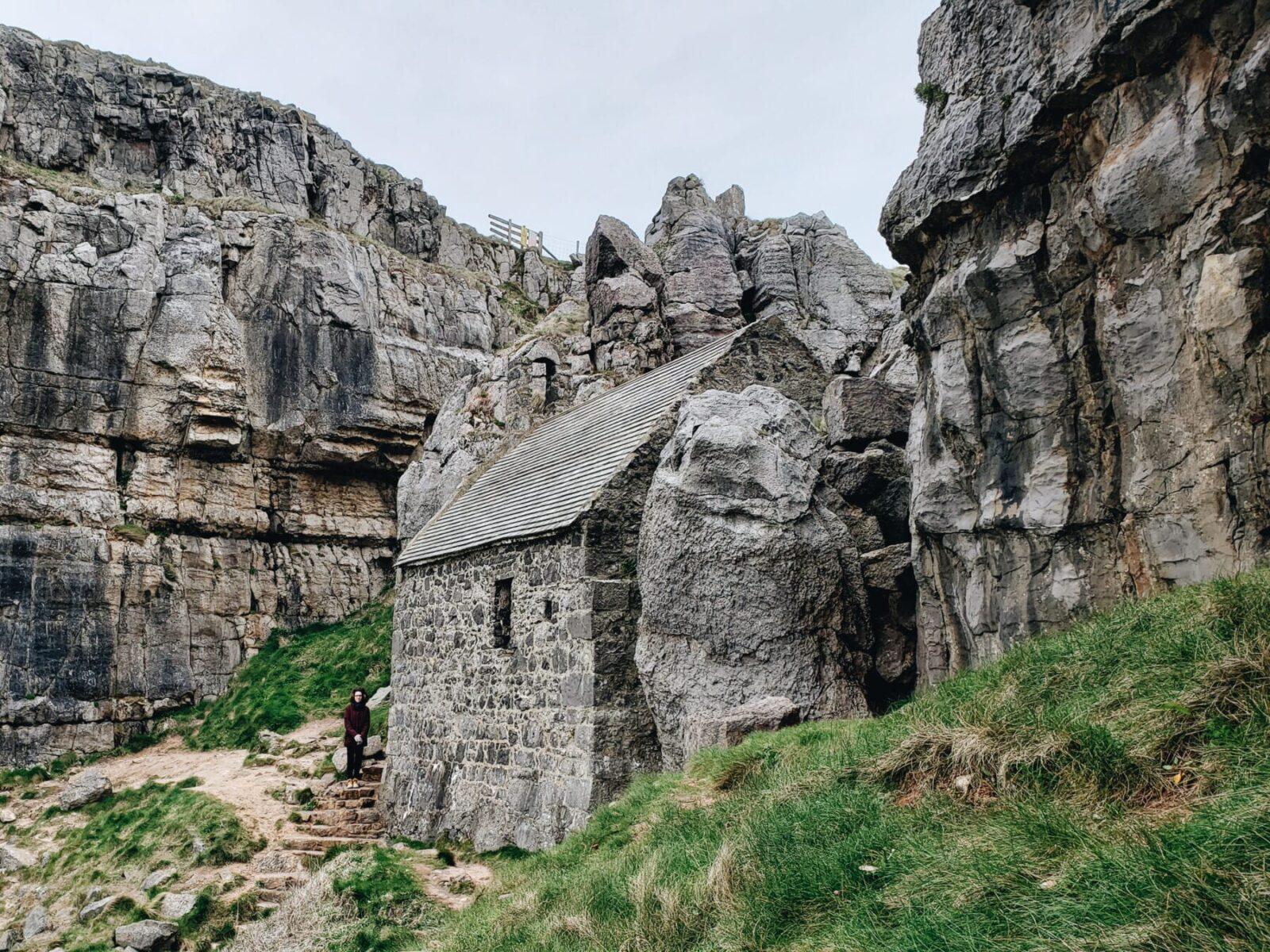 Capela de Saint Govan, País de Gales