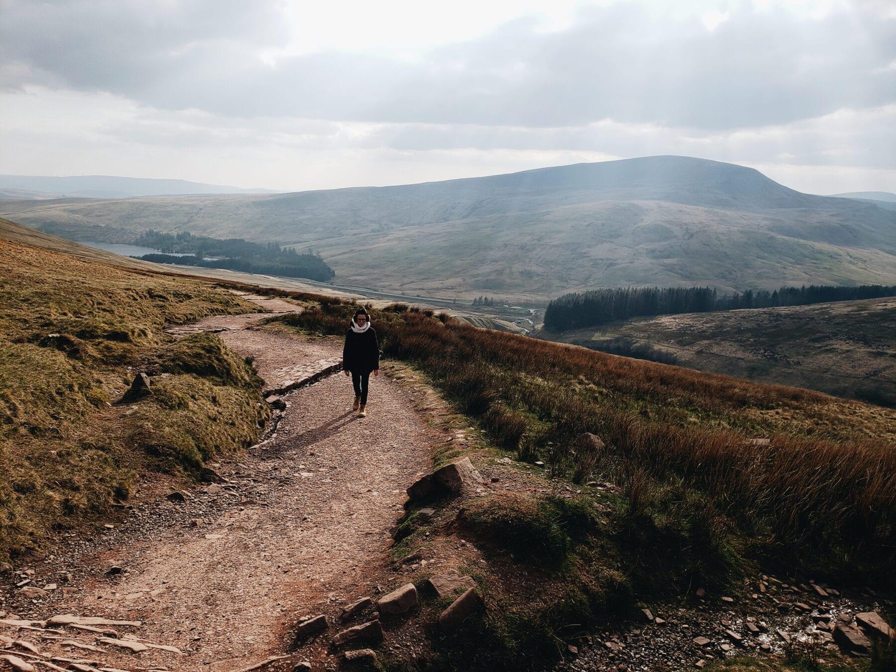 Trilha Pen y Fan, País de Gales