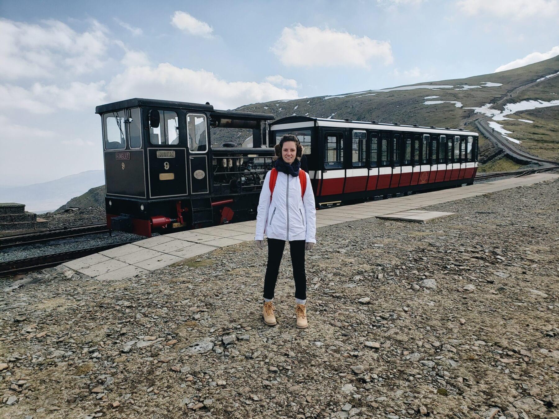 Trem para Snowdon, País de Gales