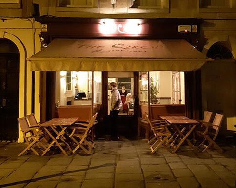 Restaurante The Circle, Bath, Inglaterra
