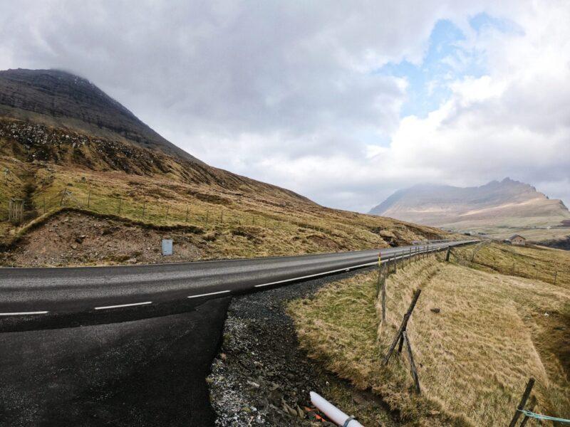Estrada Ilhas Faroé