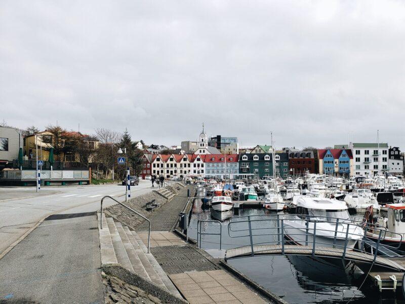 Porto de Tórshavn, Ilhas Faroé