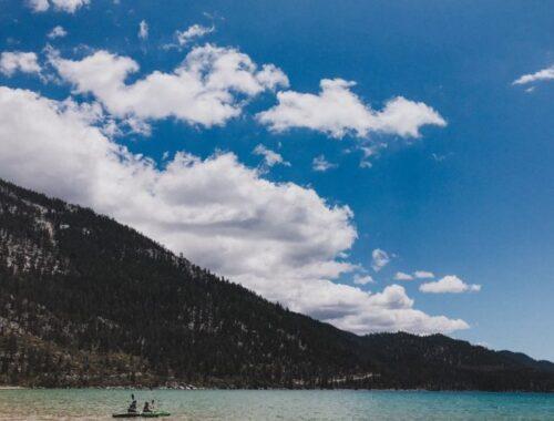 Sand Harbor Beach lake tahoe verao