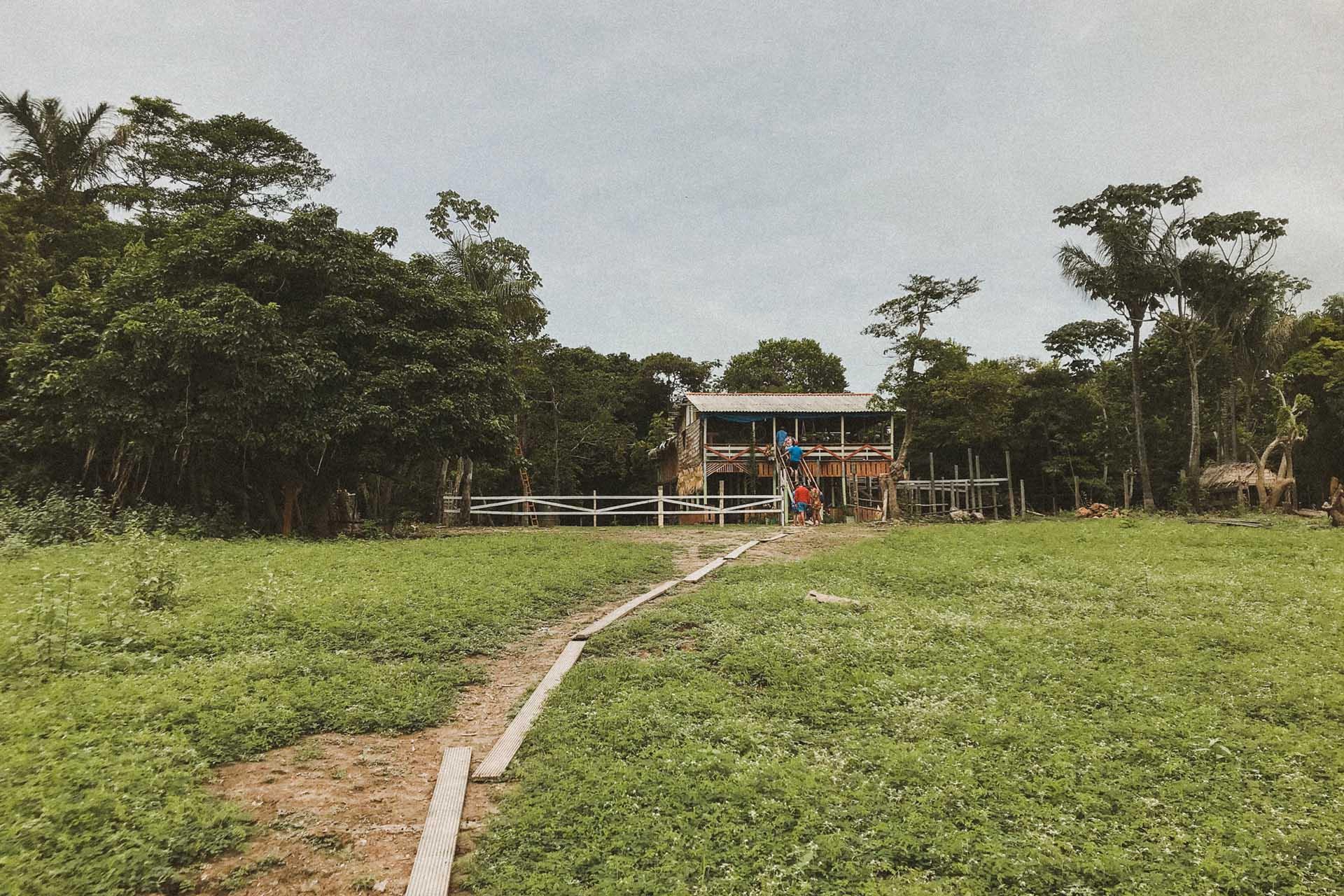 Casas de Palaphita alter do chao